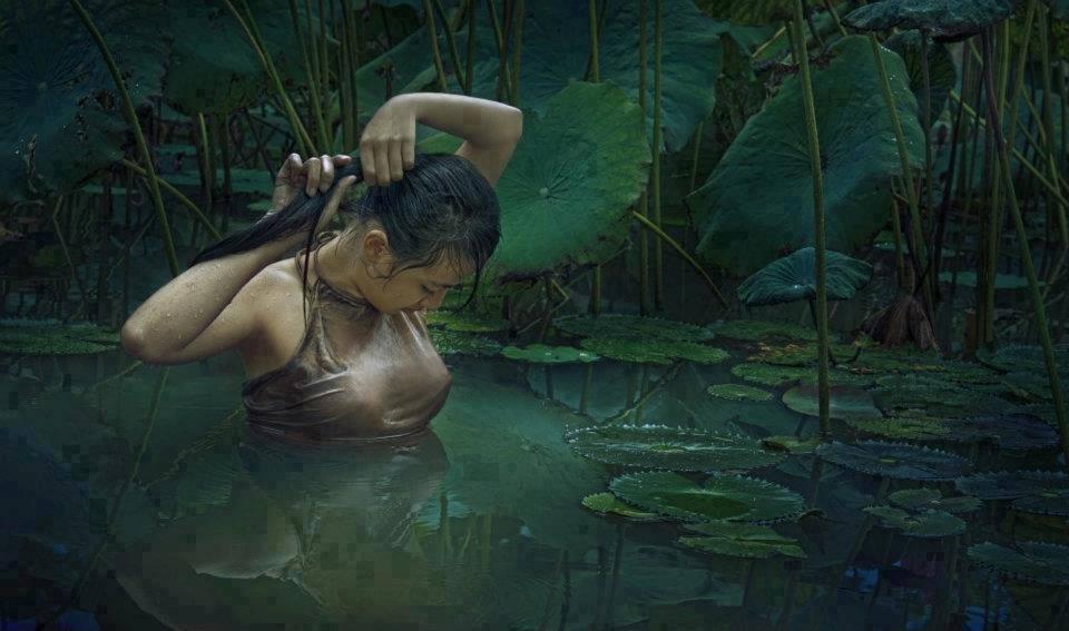 베트남의 아가씨