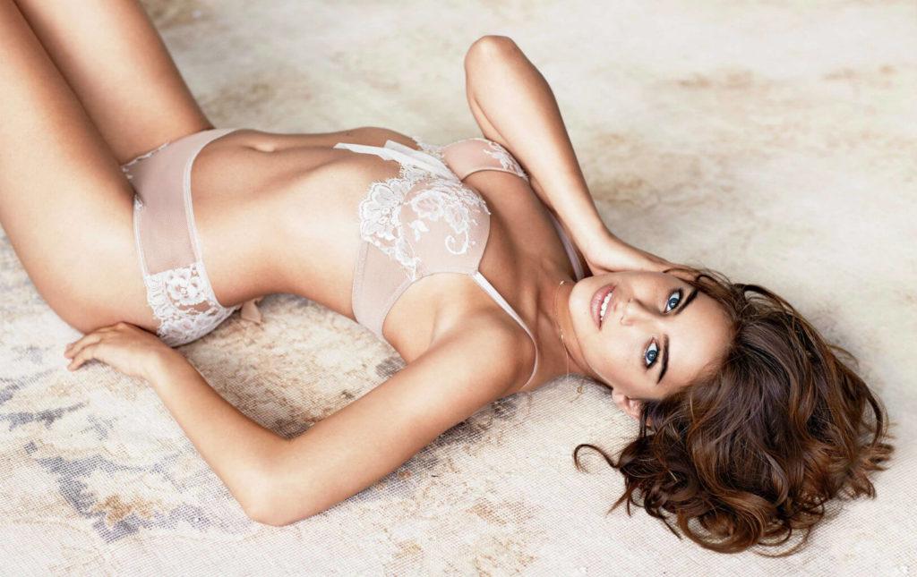 gorgeous lingerie girl