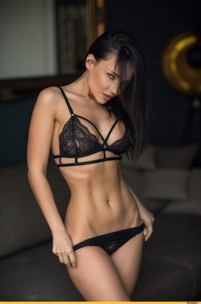 hot lingerie girl