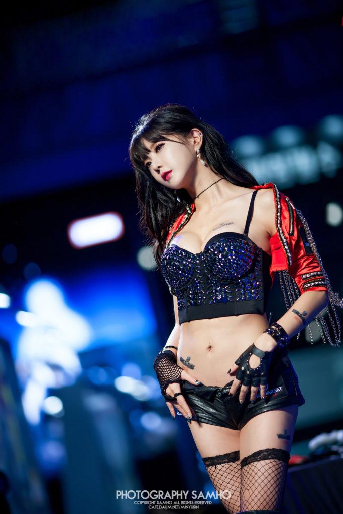 hot Korean model