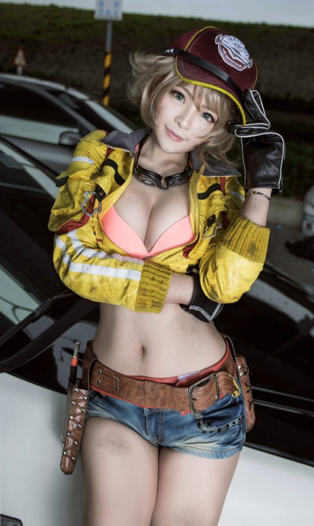 cool cosplay girl