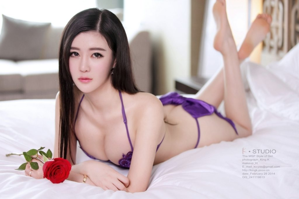 hot violet lingerie Chinese