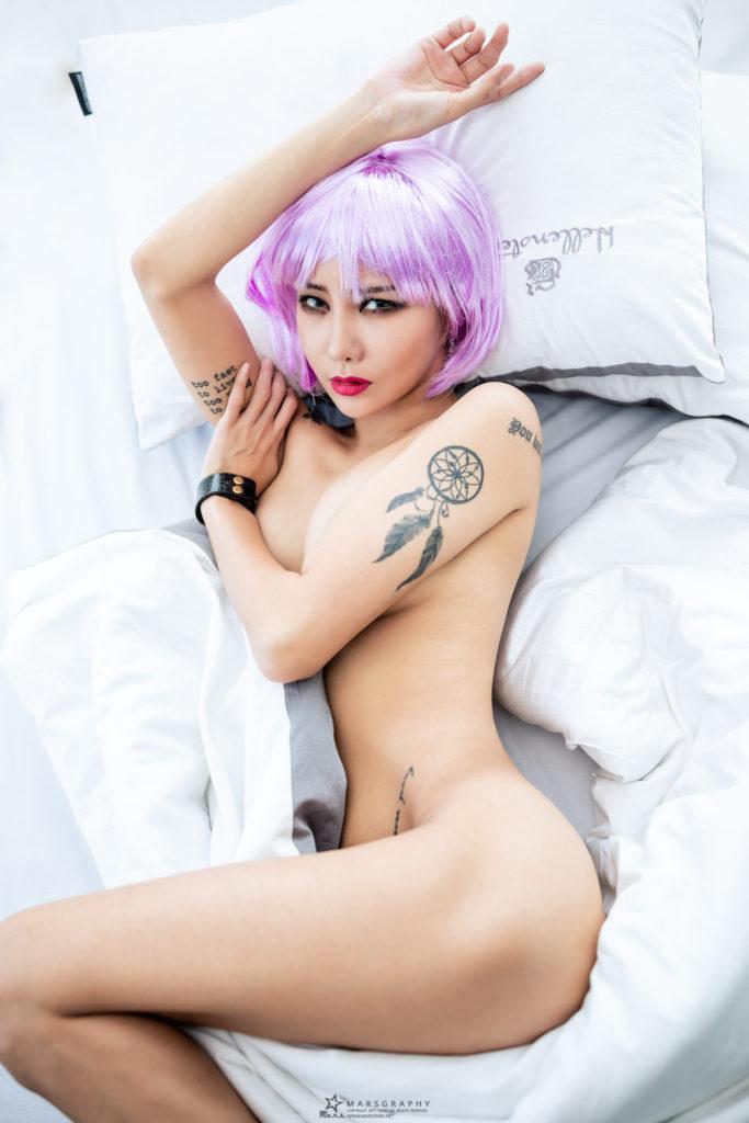 hot nude Korean model