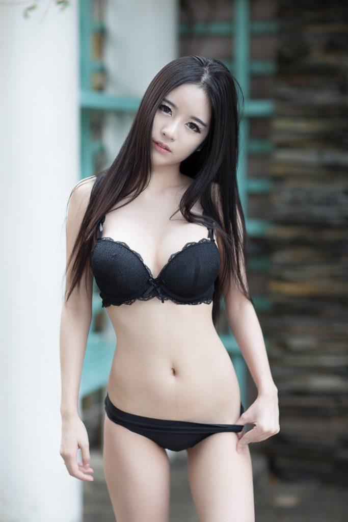 cool bikini Asian