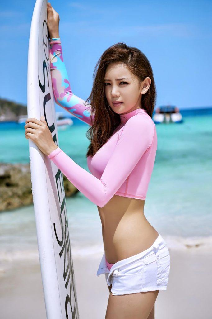 hot curved Korean