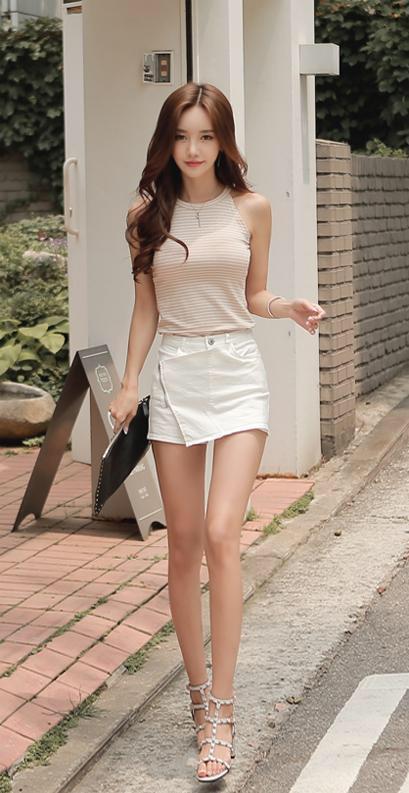 cool wearing Korean