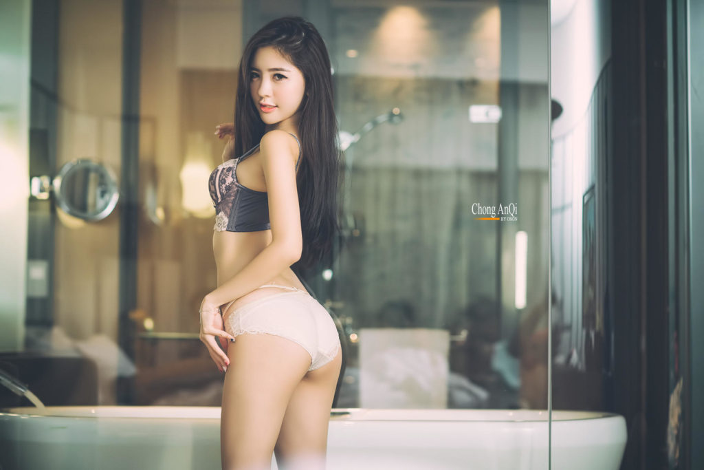 hot lingerie Asian
