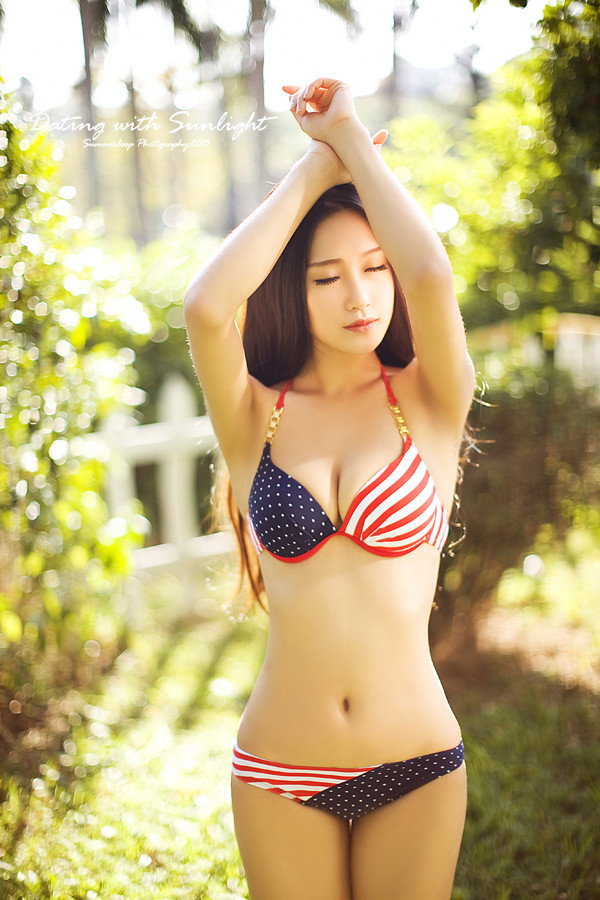 cool bikini Asian