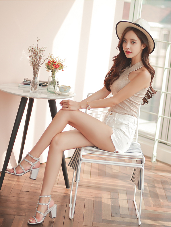 elegant wearing Korean