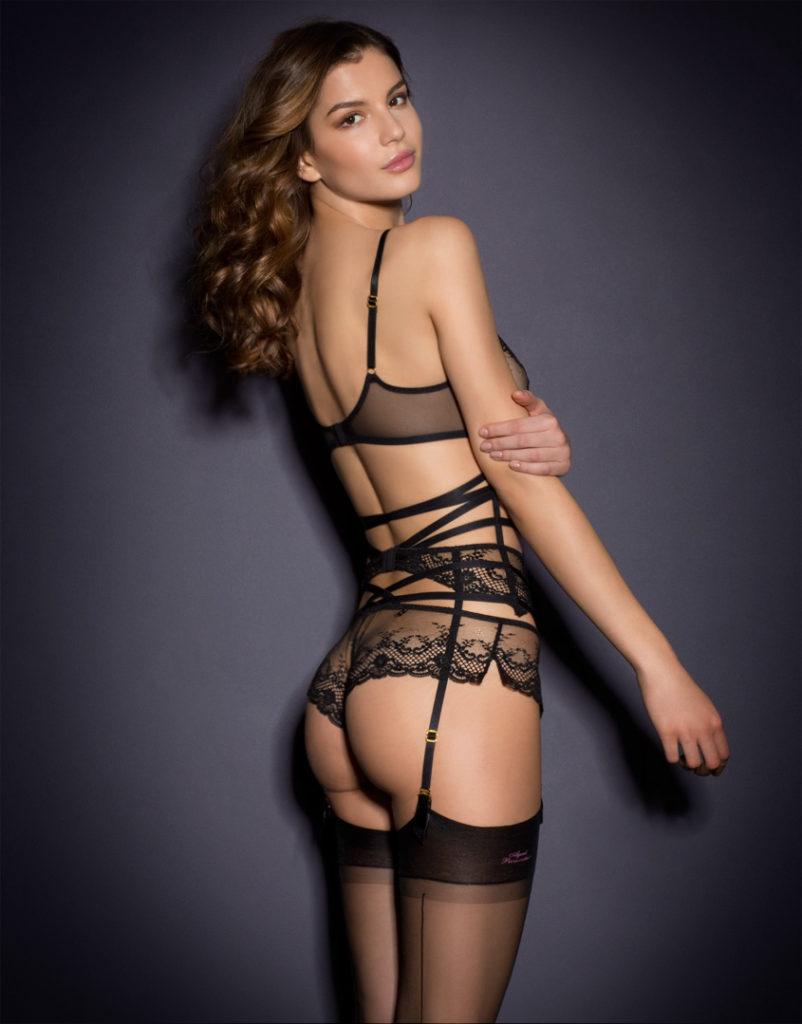 hot lingerie back