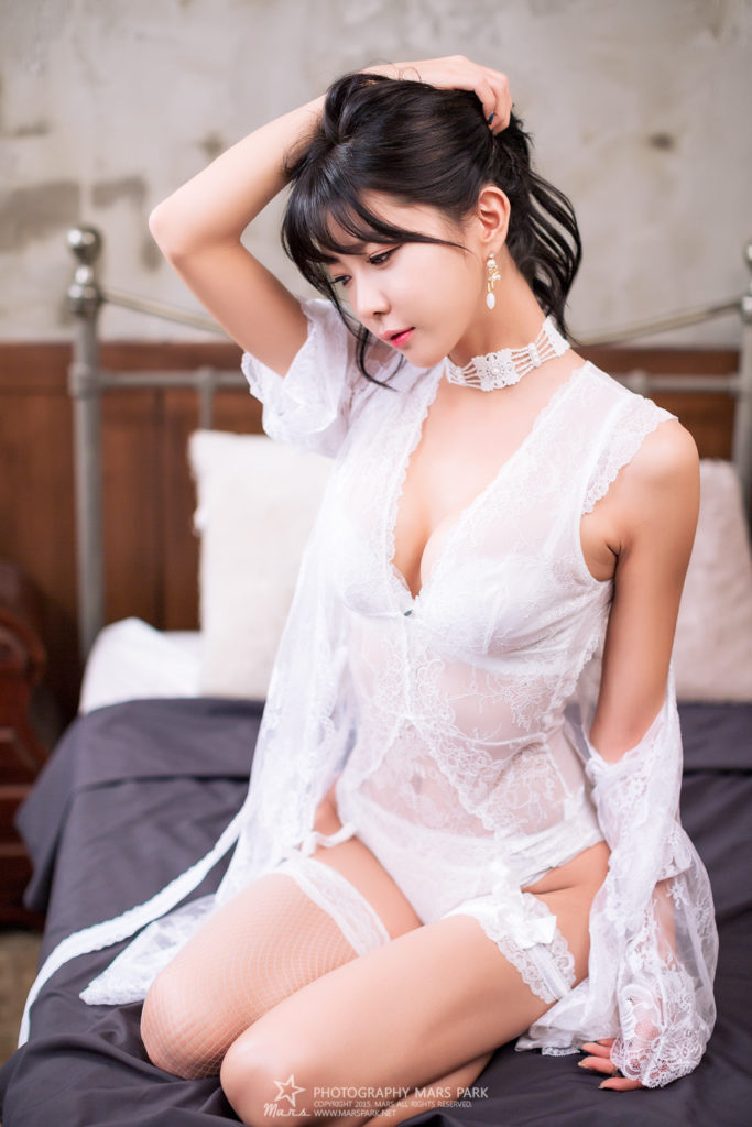 hot lingerie Korean model