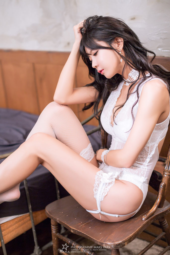 hot lingerie Korean girl
