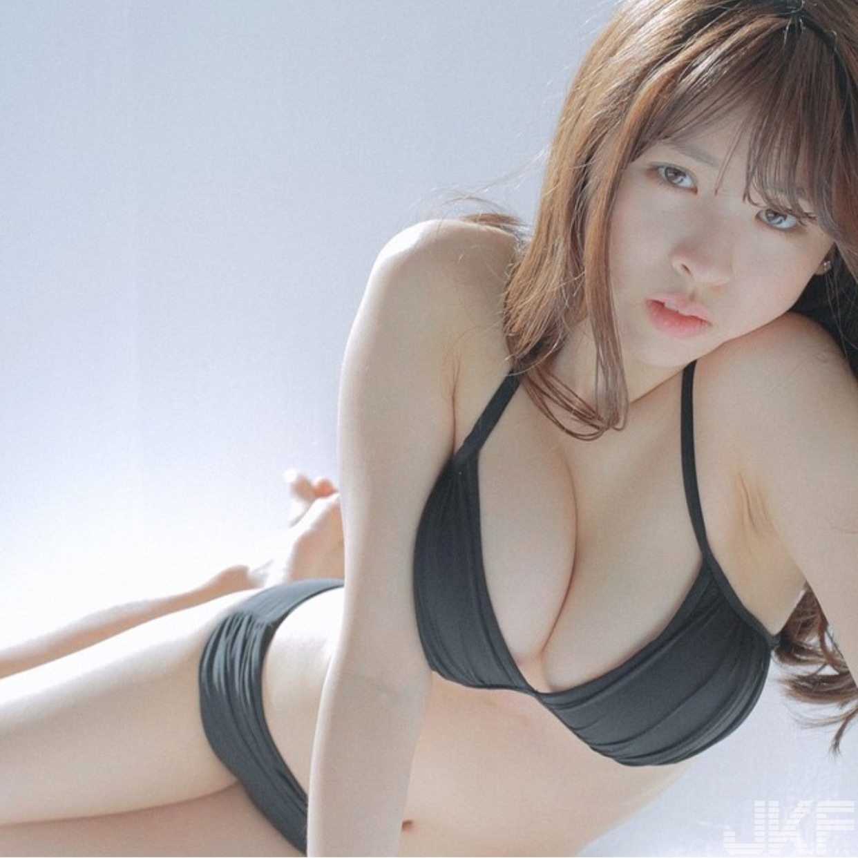 Korean beautiful lingerie model
