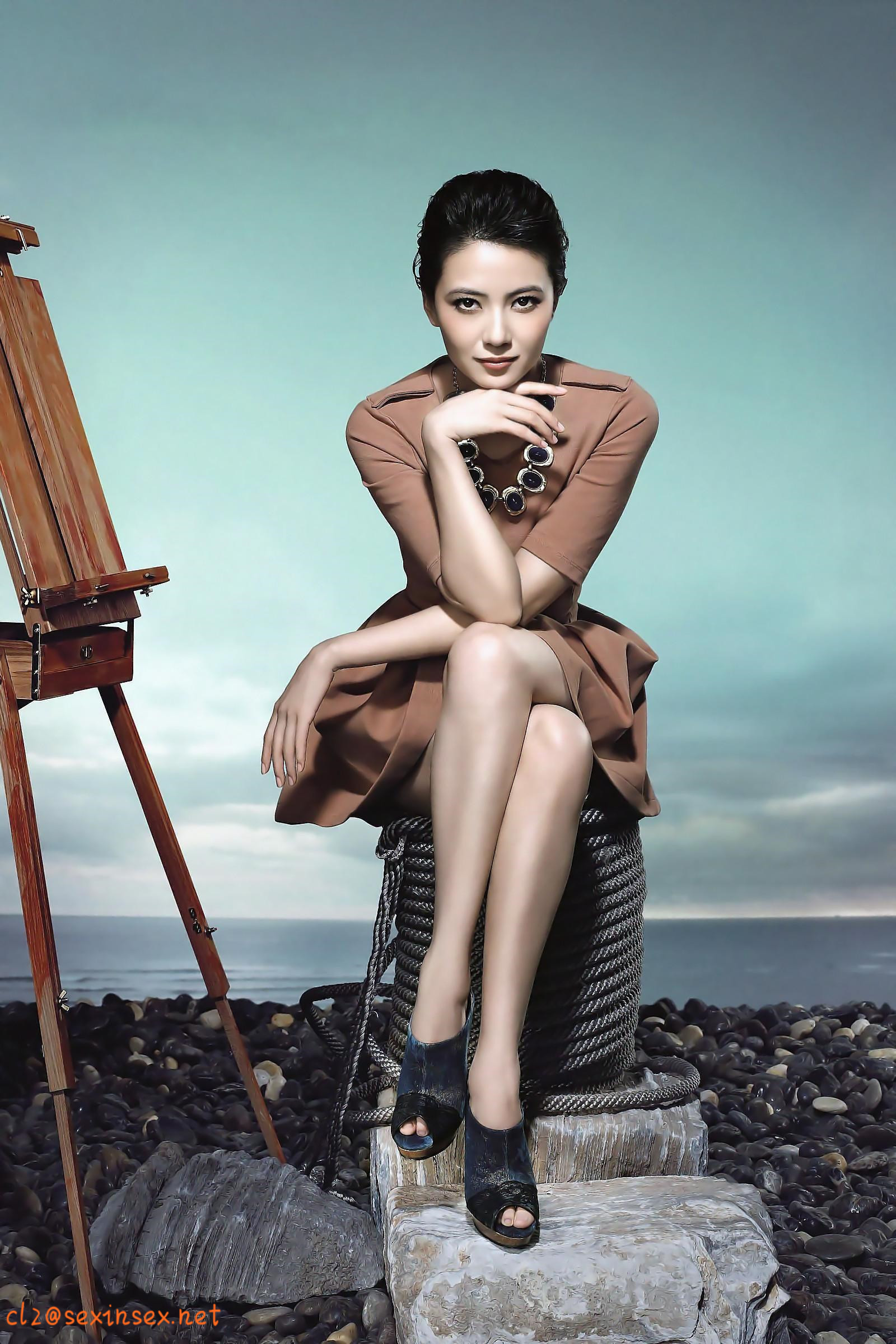 intense Chinese model