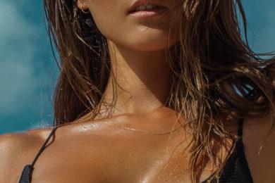 intense woman