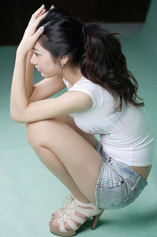 cool Korean woman